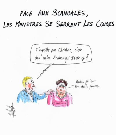 370 - scandales ministres