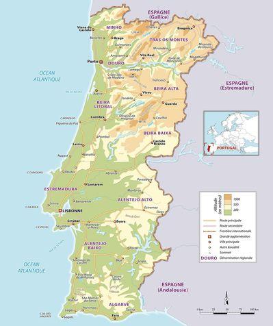 portugal-carte