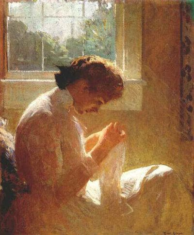 the sunny window 1919