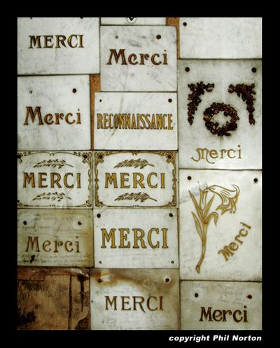 Merci by philnortondesign