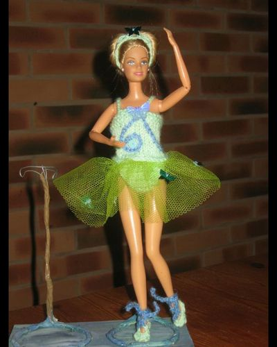 barbie danseuse papillon