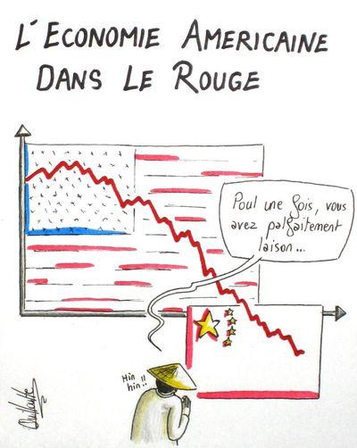 208 - économie USA rouge