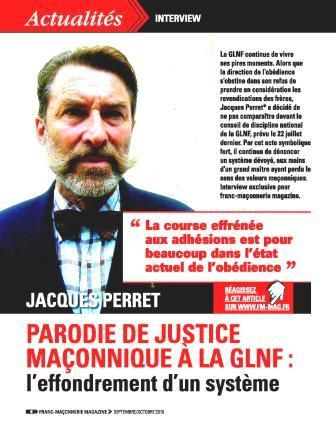 Interview jacques perret