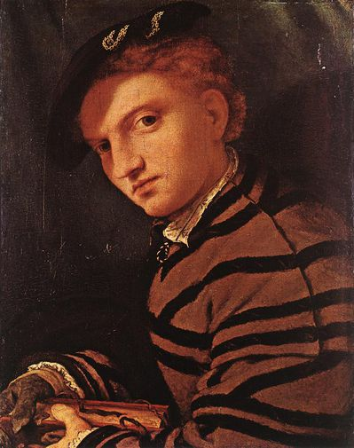 Lorenzo lotto jeune homme Young Man