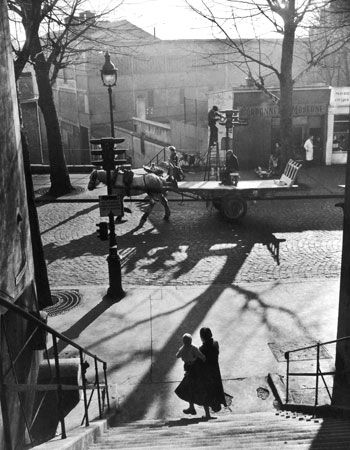 Willy Ronis sous le ciel de Paris