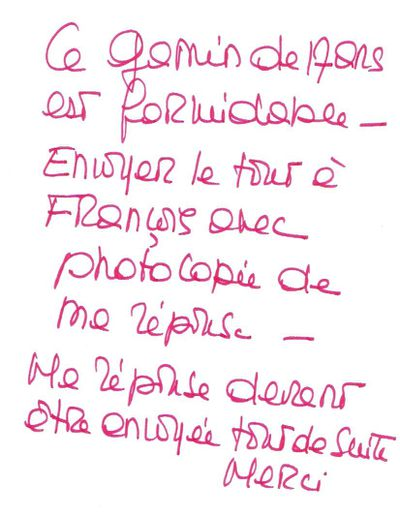 Lettre Bardot à Bagnaud (pour David Hubert)-copie-1