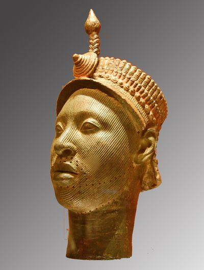 benin ife tete couronnee British museum