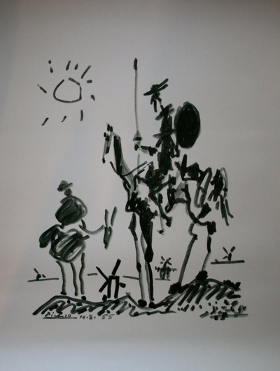 don quichotte picasso