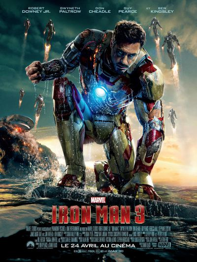 Iron Man 3 new poster HD VF
