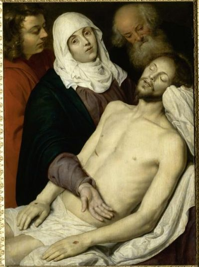 Déploration du Christ de Pieter Van Mol