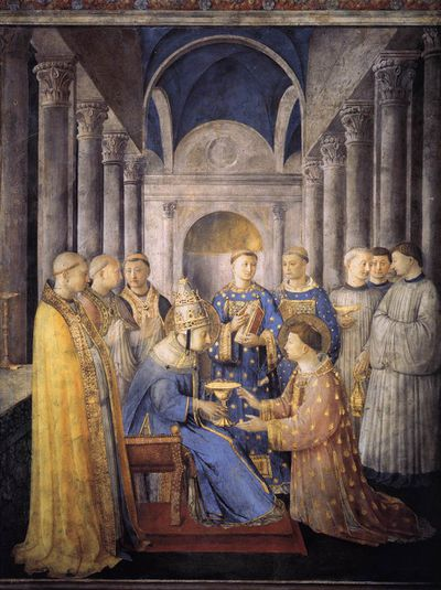 Fra angelico St. Peter Niccoline Chapel chapelle saint pier