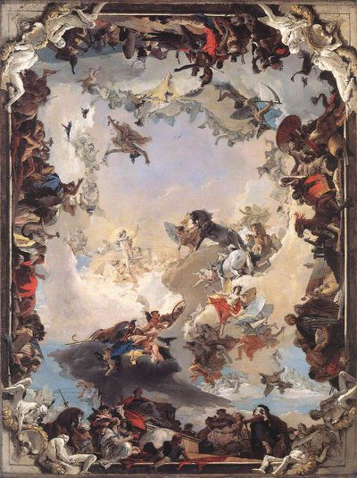 Tiepolo allégories des planetes allegory of the planets an