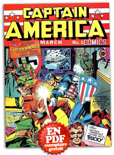 captain america n°1 #1 issue 1941 comics