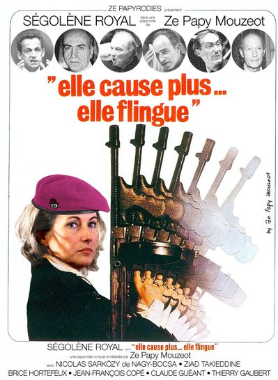 Segolene elle flingue