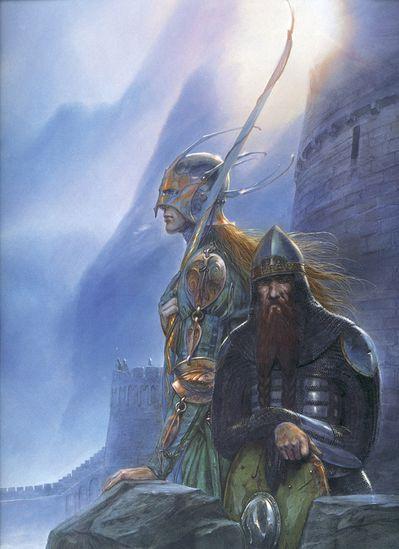 John Howe le seigneur des anneaux (2)