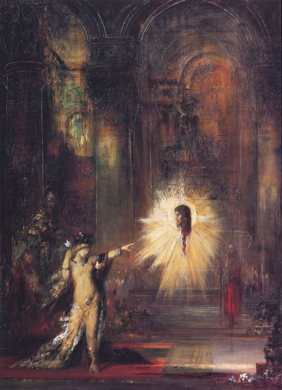 Gustave moreau salome the apparition