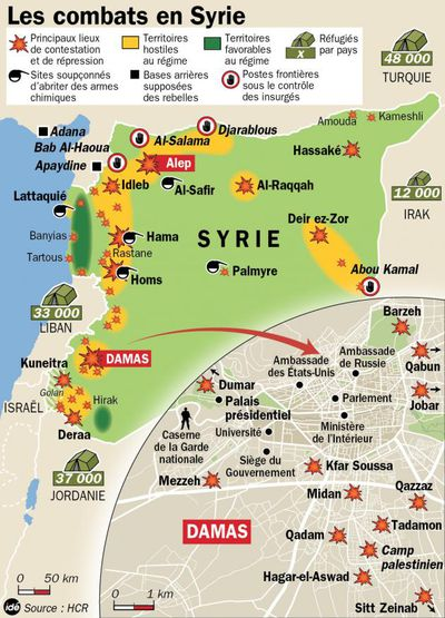 Infographie Syrie 07-08-12