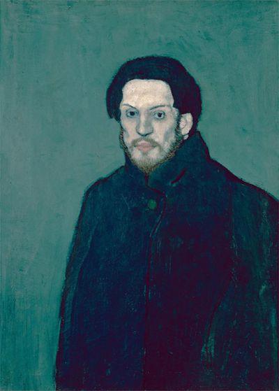 Picasso autoportrait