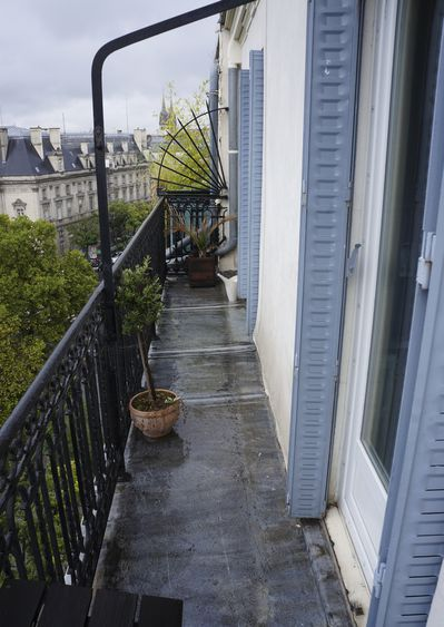 La p pini re 2 apr s le blog 39 la p pini re 39 silv re - Amenagement petit balcon parisien ...