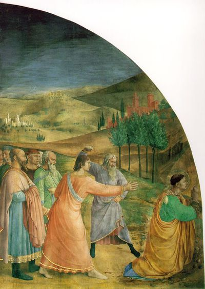 Fra angelico fresque chapelle Niccoline