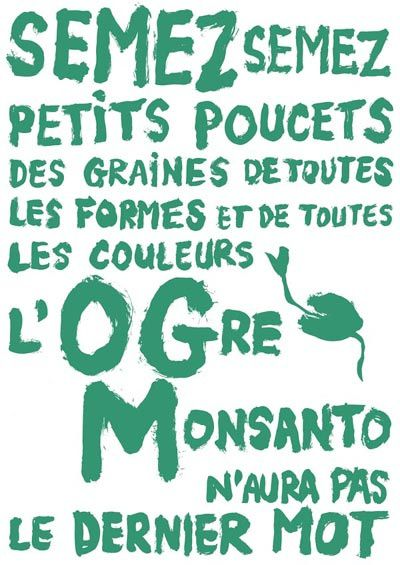 Campagne internationale d'exclusion de Monsanto