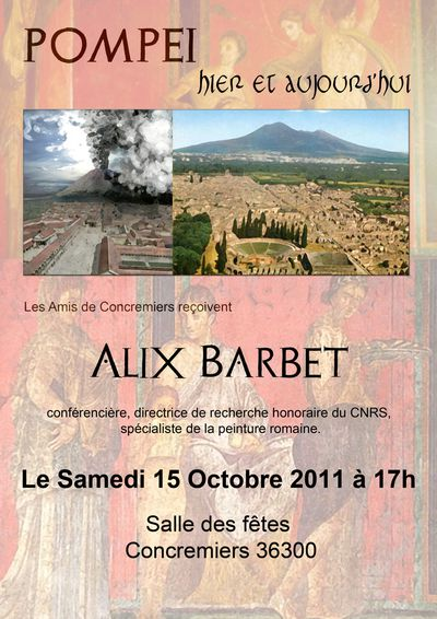 affiche conference