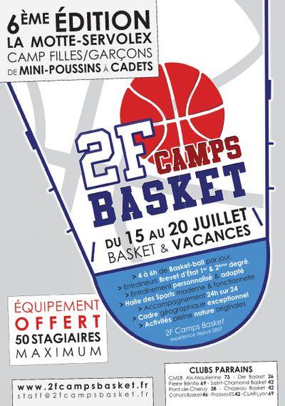 2F Camps Basket - Plaquette 2012