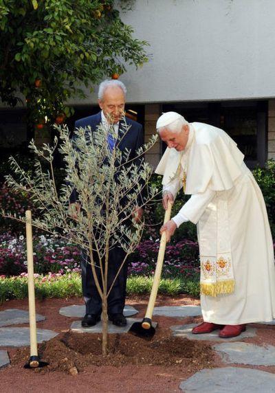 Visite de courtoisie à Shimon Peres 2