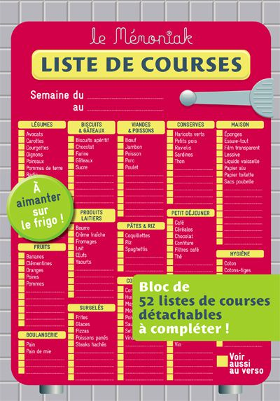 Liste des courses2