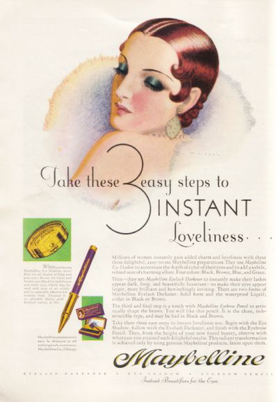 maybelline 1930