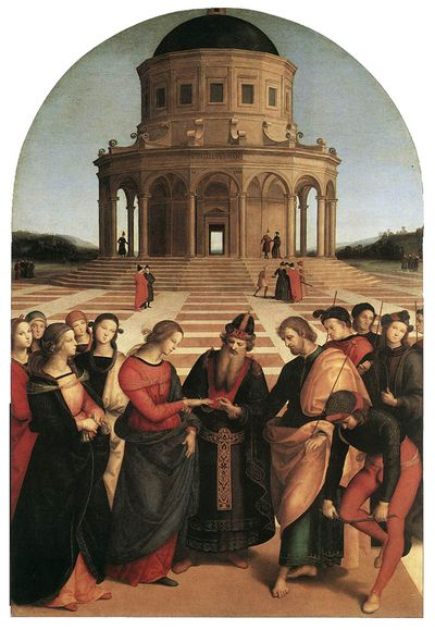 Raphael marriage