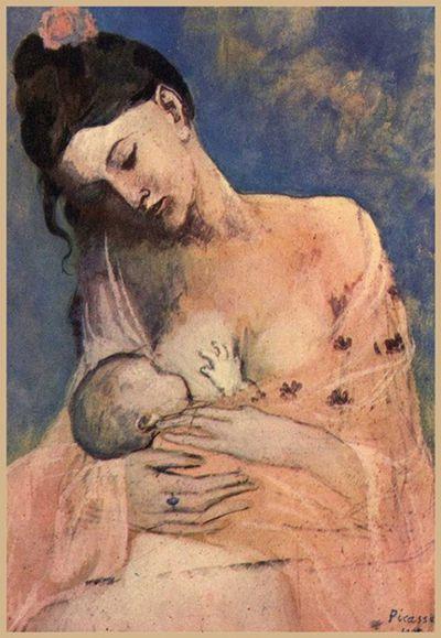La Maternité Picasso 1905