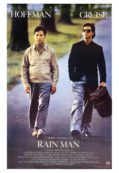affiche rain man barry levinson tom cruise dustin hoffman