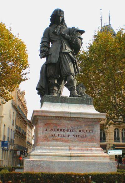 Statue de Riquet a Béziers 01