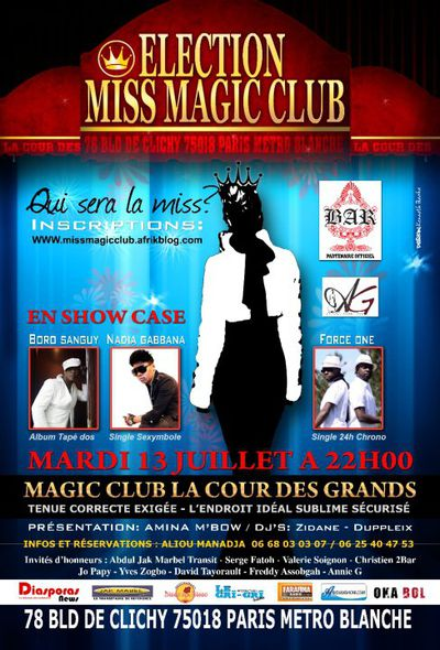 Miss Magic Club 2010 www.legrigriinternational.com