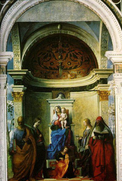 bellini Madonne et les saints