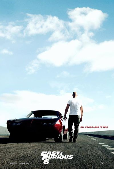 Fast and Furious 6 Poster Teaser