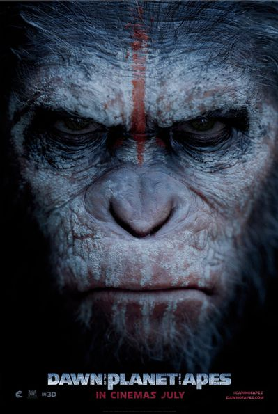 Dawn of the Planet of the Apes Poster 01