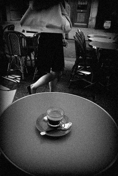 jambes et café