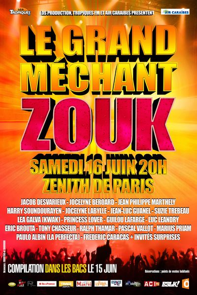 le grand mechant zouk 2012
