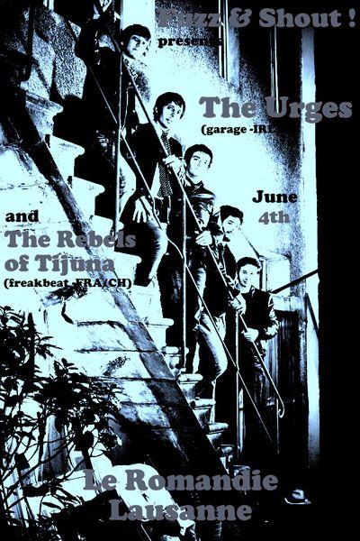 The Rebels of Tijuana au Romandie de Lausanne ce samedi 4 juin 2011