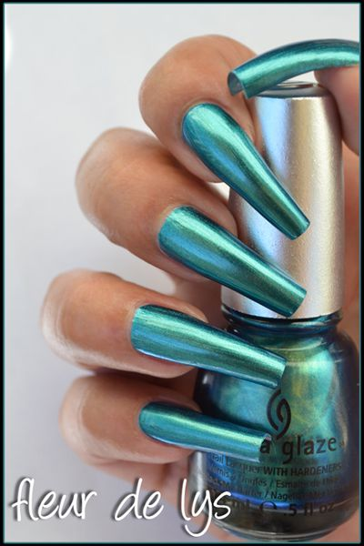 China Glaze Bohemian collection swatches