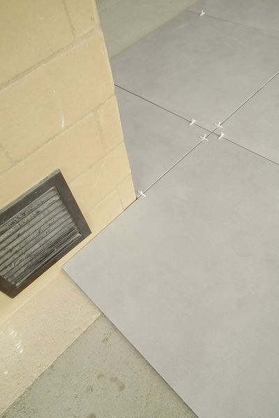 positionnement joints carrelage