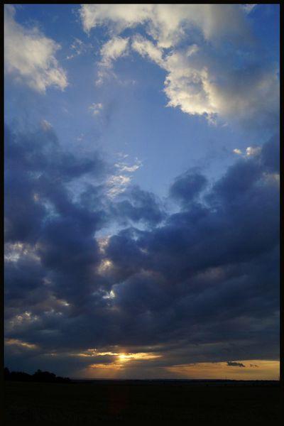 26-07-2010 dans les blés + coucher soleil