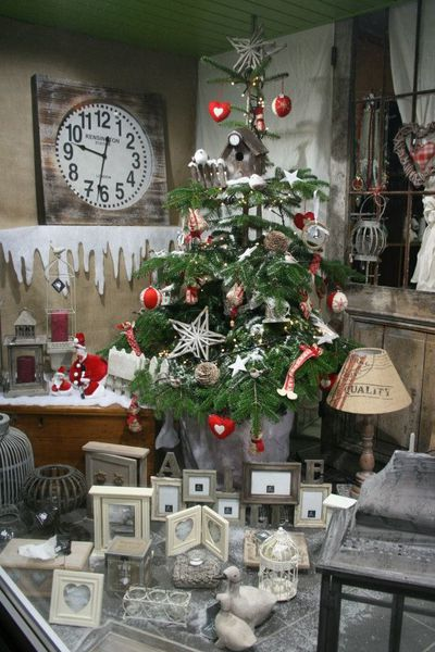 Photo deco noel magasin
