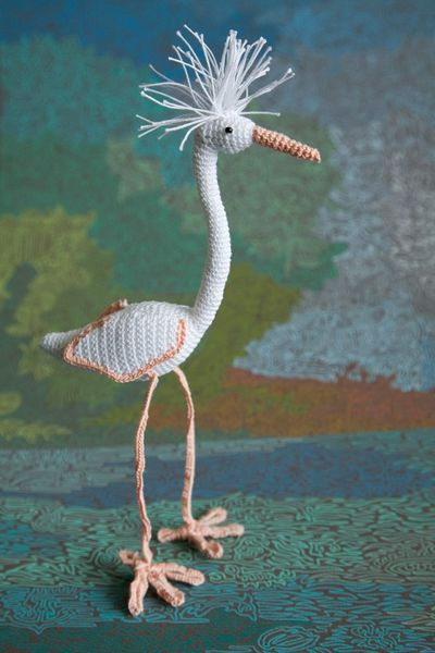 knitted-heron