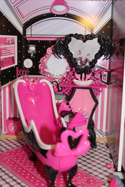 mes accessoires monster high collection alyssa. Black Bedroom Furniture Sets. Home Design Ideas
