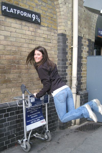 Harry potter gare de king 39 s cross le blog de anne - Gare king cross londres ...