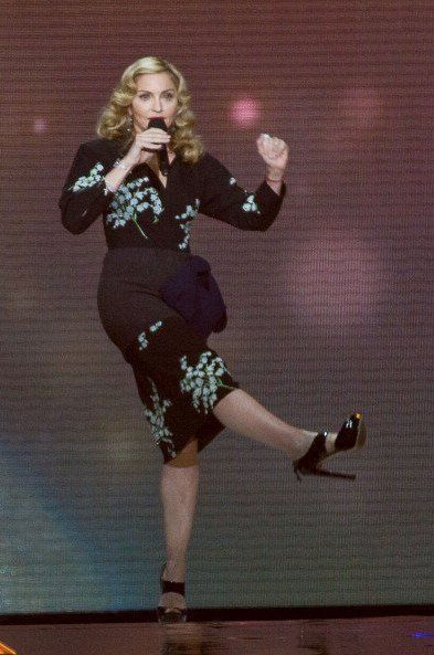 Madonna at Oprah Winfrey's Final Show: More photos