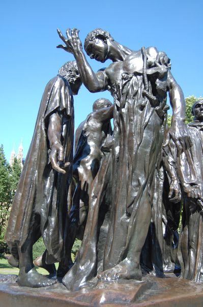 Rodin les bourgeois de Calais